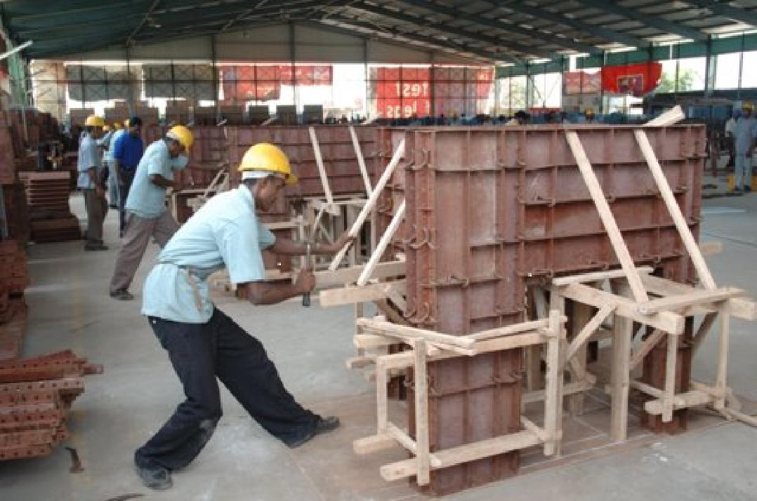 Metal Form for Construction Industry